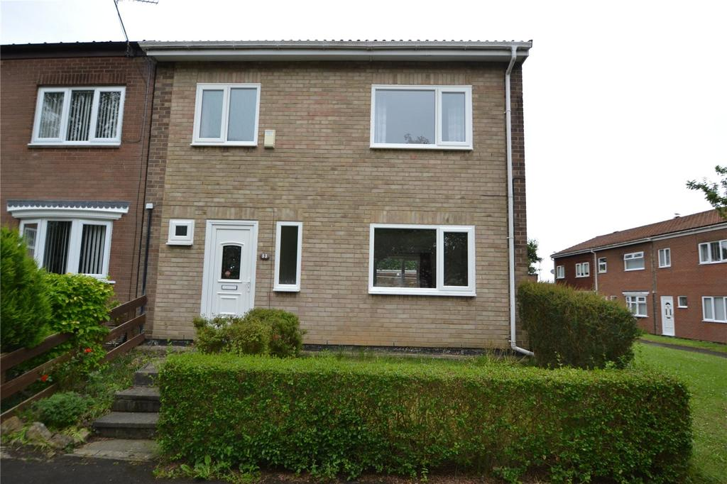 3 Bedrooms End Of Terrace House for sale in Hatfield Place, Peterlee, Co Durham, SR8