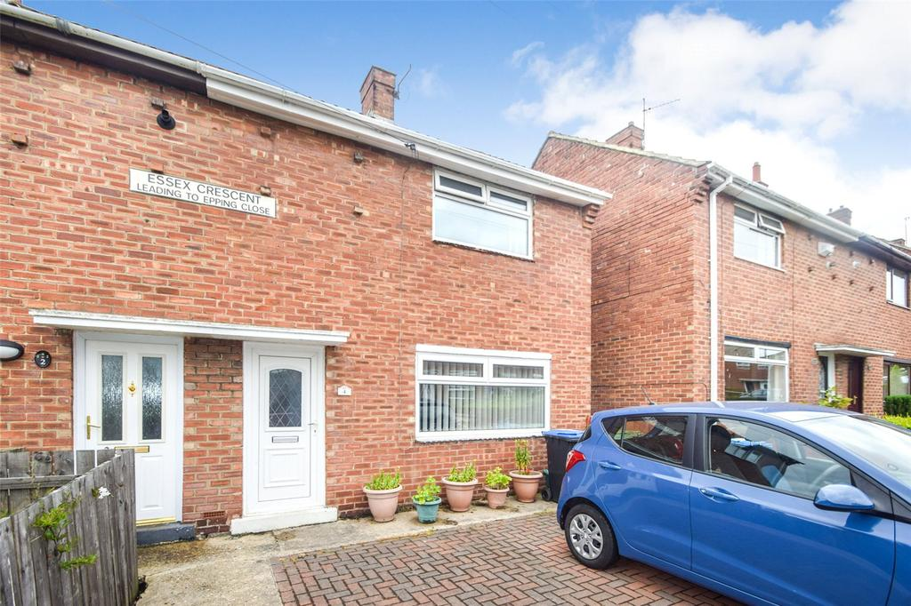 2 Bedrooms Semi Detached House for sale in Essex Crescent, Seaham, Co. Durham, SR7