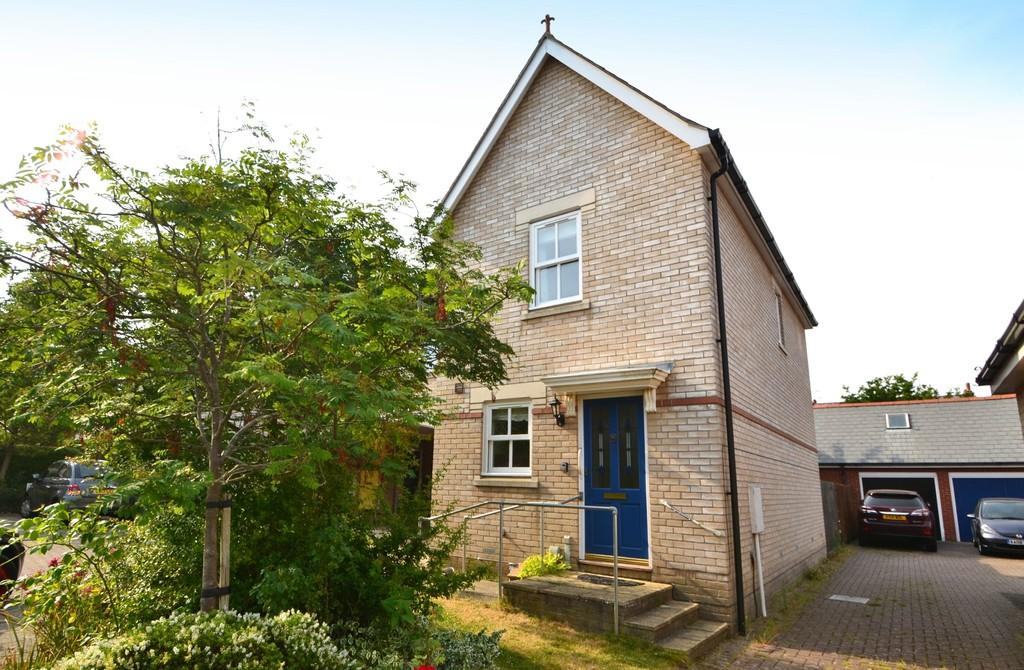 2 Bedrooms Semi Detached House for sale in George Frost Close, Ipswich, Suffolk, IP4 2UG