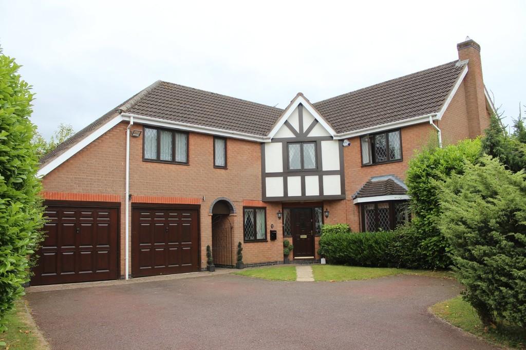 5 Bedrooms Detached House for sale in Althorpe Drive, Dorridge