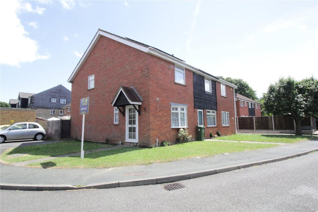 2 Bedrooms End Of Terrace House for sale in Fraser Close, Laindon West, Essex, SS15