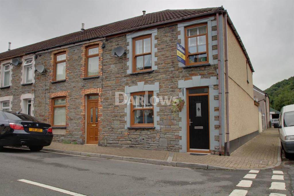 3 Bedrooms End Of Terrace House for sale in Sheppard Street, Pwllgwaun