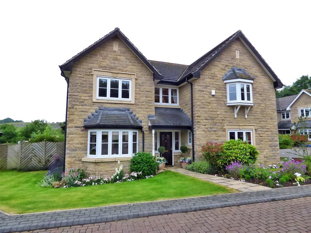4 Bedrooms Detached House for sale in Bluehills Lane, Lower Cumberworth, Huddersfield, West Yorkshire, HD8