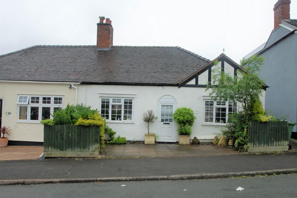 2 Bedrooms Semi Detached Bungalow for sale in Heath Gap Road, Cannock