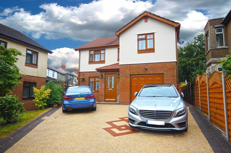 4 Bedrooms Detached House for sale in Wentloog Close, Rumney