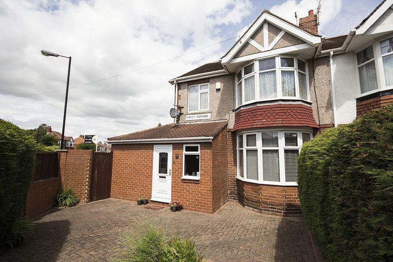 4 Bedrooms Semi Detached House for sale in Purley Gardens, Kenton NE3 3DJ