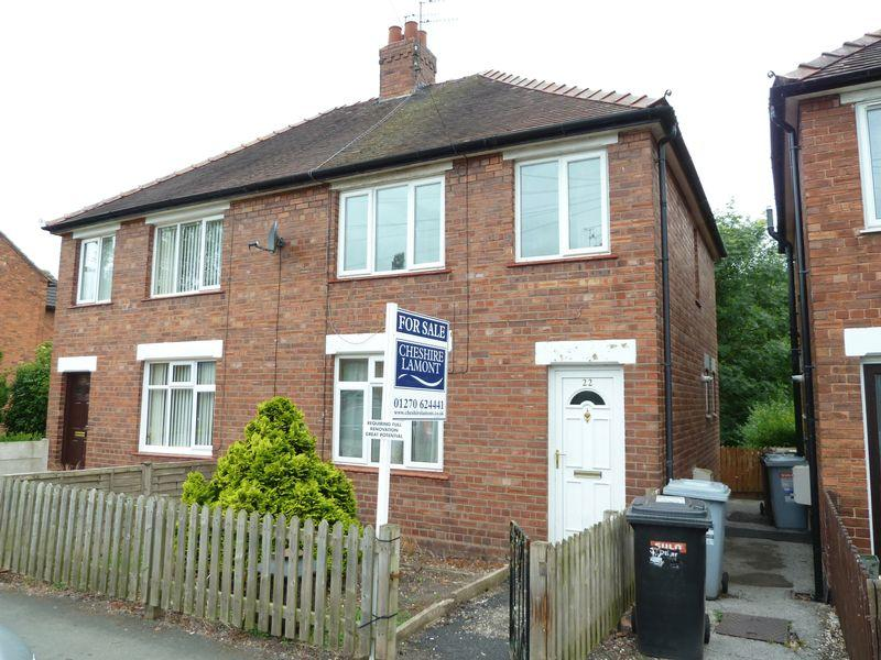 3 Bedrooms Semi Detached House for sale in Shrewbridge Road, Nantwich
