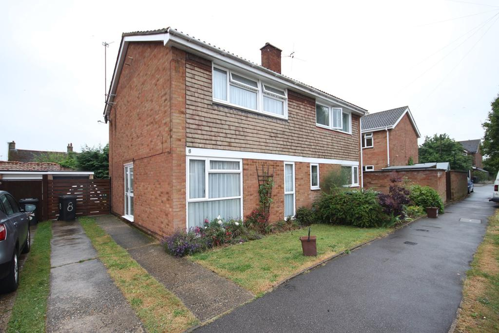 3 Bedrooms Semi Detached House for sale in Newis Crescent, Clifton, Shefford, SG17