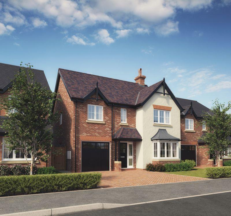 4 Bedrooms Detached House for sale in Plot 10, Kings Vale, Baschurch