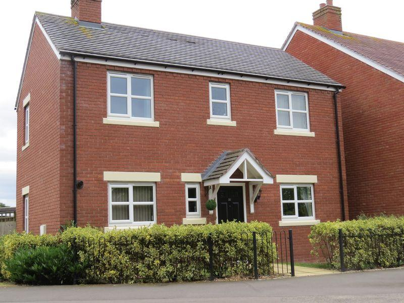 3 Bedrooms Detached House for sale in Montague Walk, Copthorne, Shrewsbury