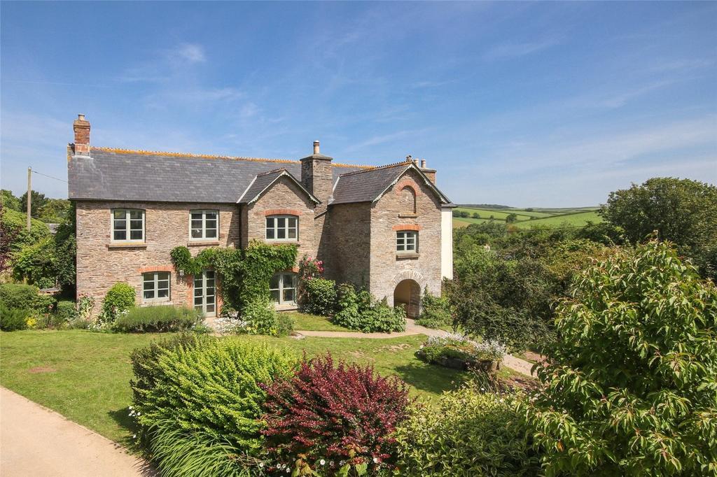 5 Bedrooms Detached House for sale in South Milton, Kingsbridge, Devon, TQ7