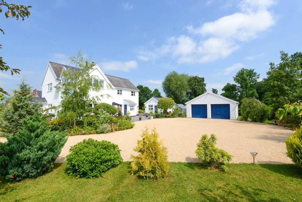 4 Bedrooms Detached House for sale in Cuddington, Malpas, Cheshire