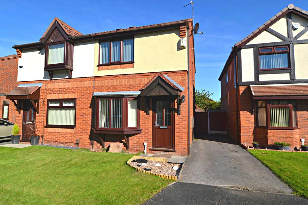 2 Bedrooms Semi Detached House for sale in Sunnybank Close, Newton Le Willows