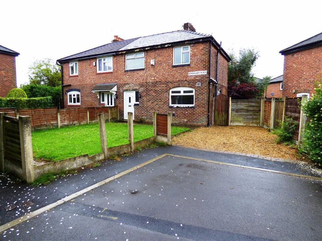 3 Bedrooms Semi Detached House for sale in Amersham Place, Burnage, Manchester, M19