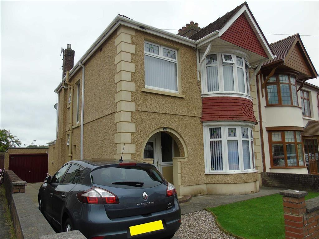 4 Bedrooms Semi Detached House for sale in Denham Avenue, Llanelli