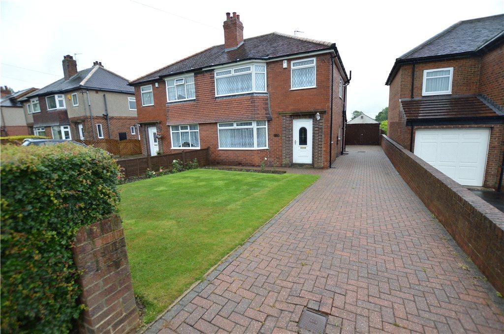 3 Bedrooms Semi Detached House for sale in Leeds Road, Scholes, Leeds, West Yorkshire