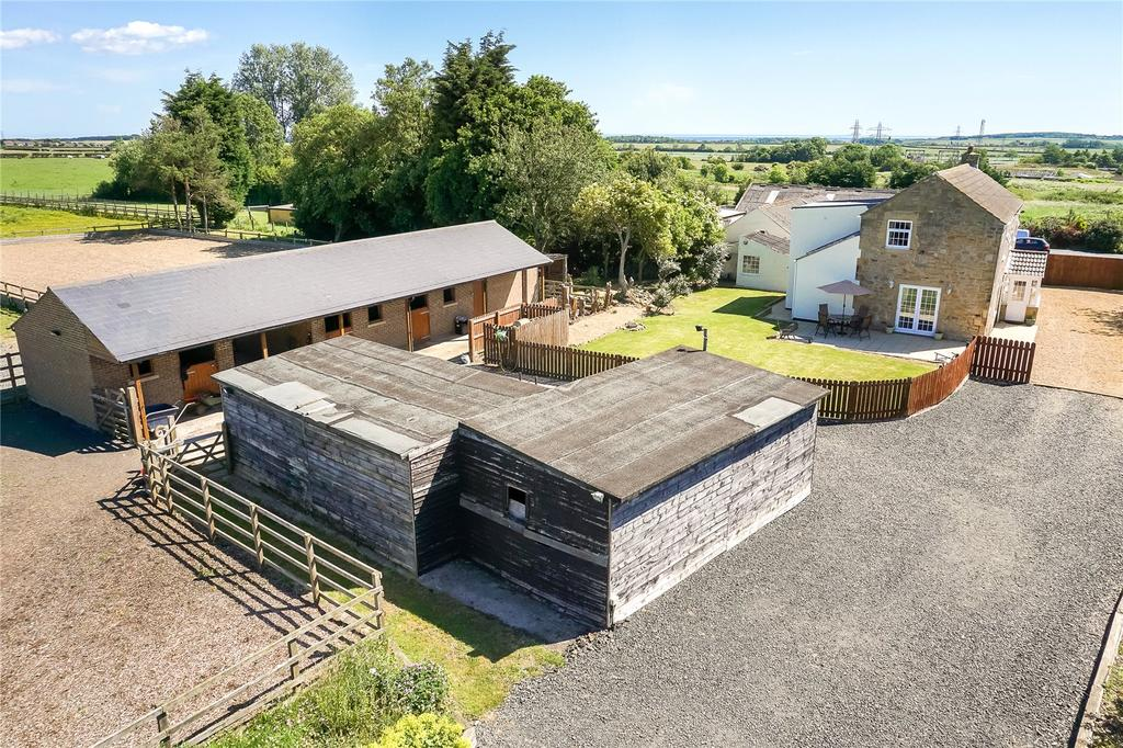 3 Bedrooms Detached House for sale in Ulgham, Morpeth, Northumberland