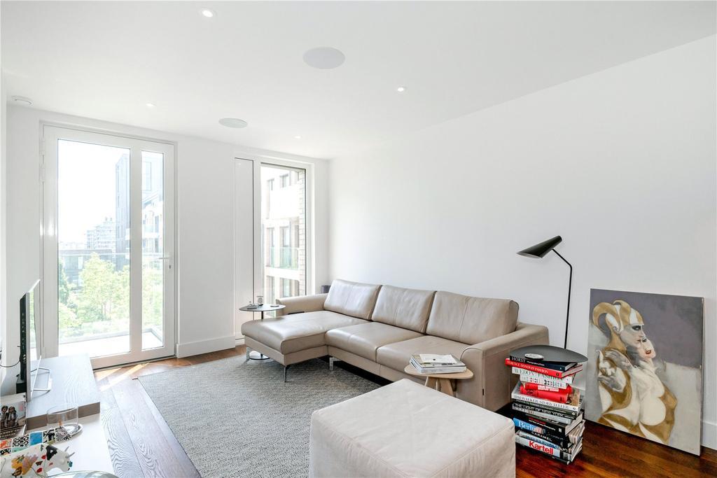 1 Bedroom Flat for sale in Ingrebourne Apartments, Fulham Riverside, London, SW6