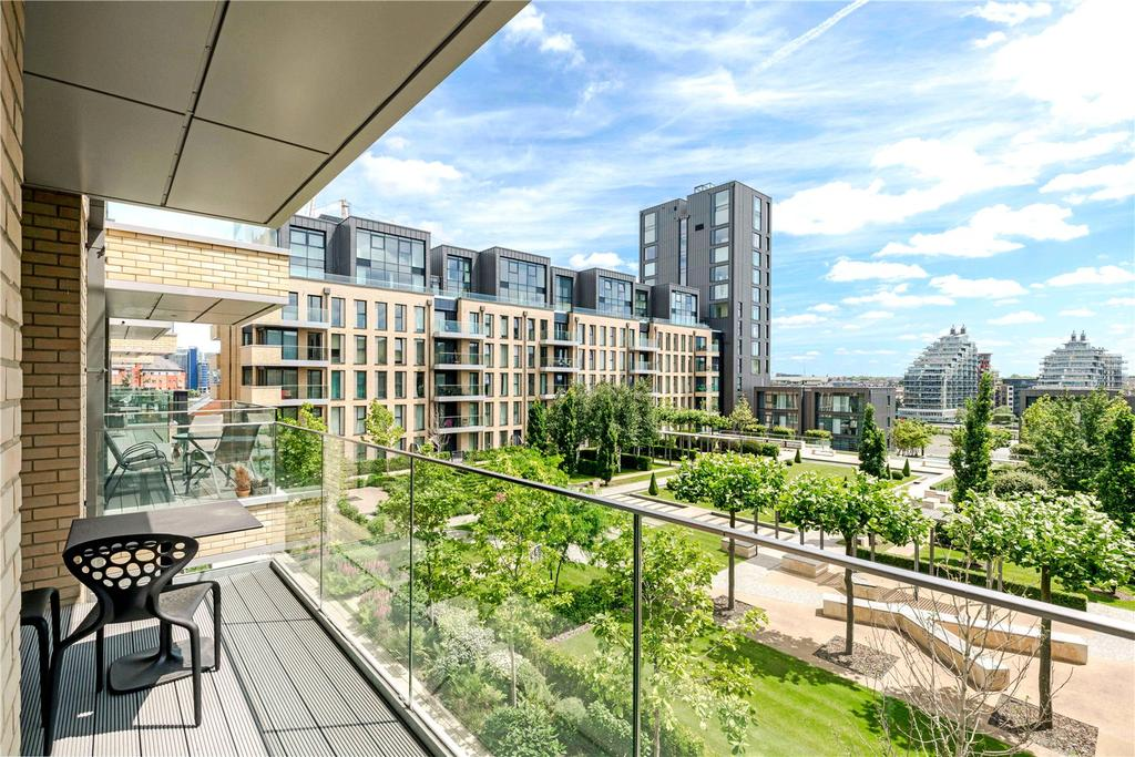 1 Bedroom Flat for sale in Ingrebourne Apartments, 5 Central Avenue, London, SW6