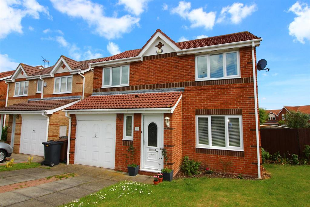 3 Bedrooms Detached House for sale in Abbots Way, North Shields
