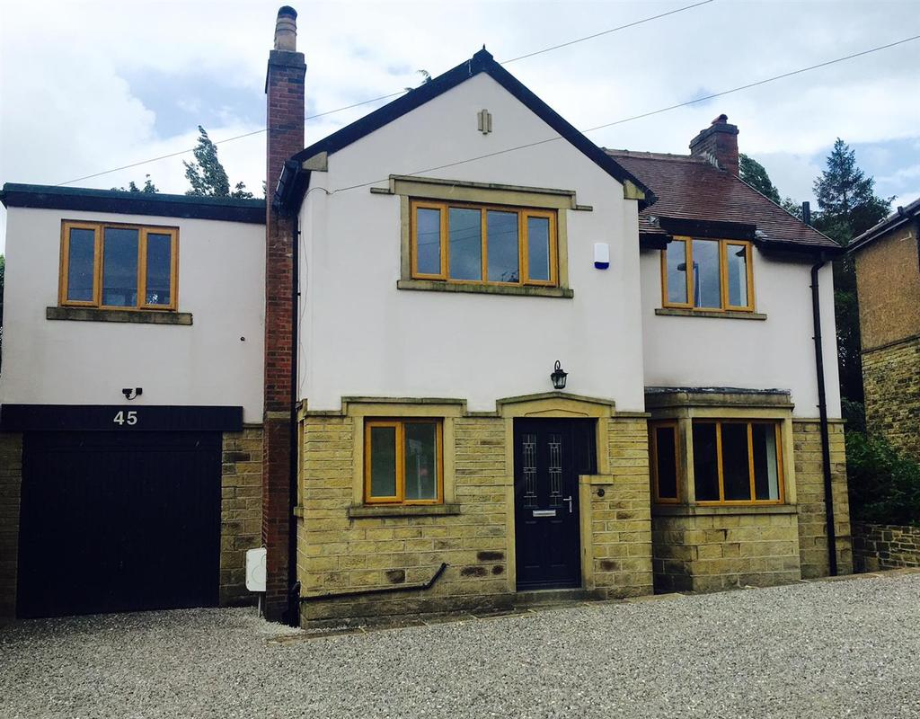 3 Bedrooms Detached House for sale in Bank End Lane, Almondbury, Huddersfield, HD5 8ES