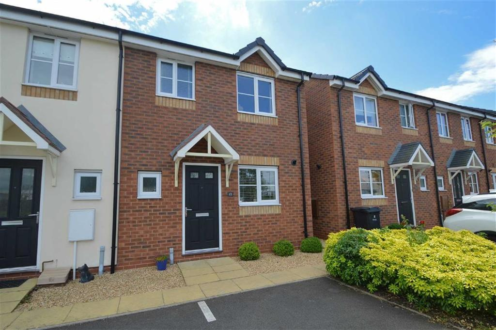 3 Bedrooms End Of Terrace House for sale in Asquith Close, Autumn Brook, Shrewsbury