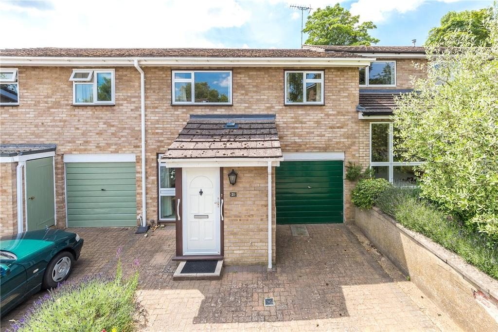 3 Bedrooms Terraced House for sale in Aplins Close, Harpenden, Hertfordshire