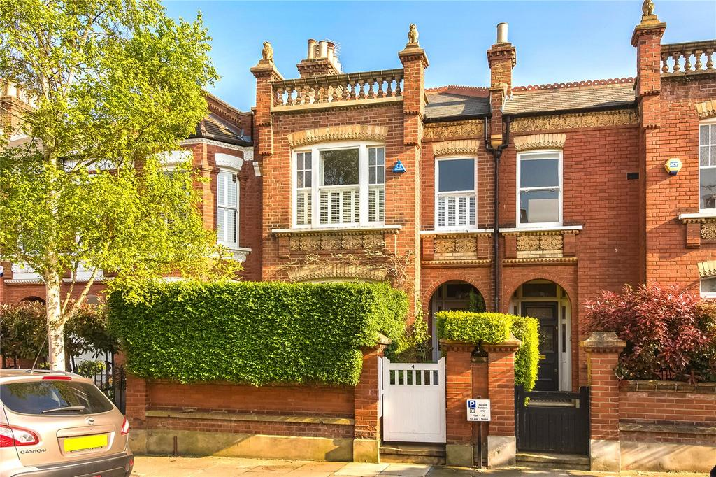 4 Bedrooms Terraced House for sale in Cleveland Road, Barnes, London, SW13