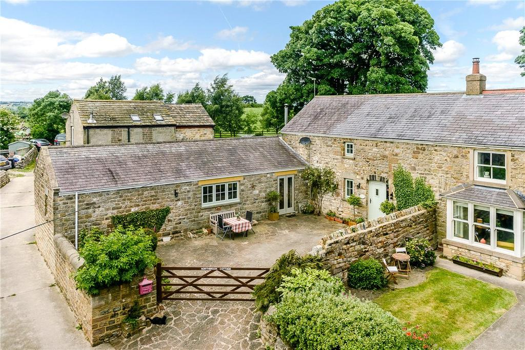 4 Bedrooms Semi Detached House for sale in Northbrook Cottage, Skipton Road, Hampsthwaite, Near Harrogate, HG3