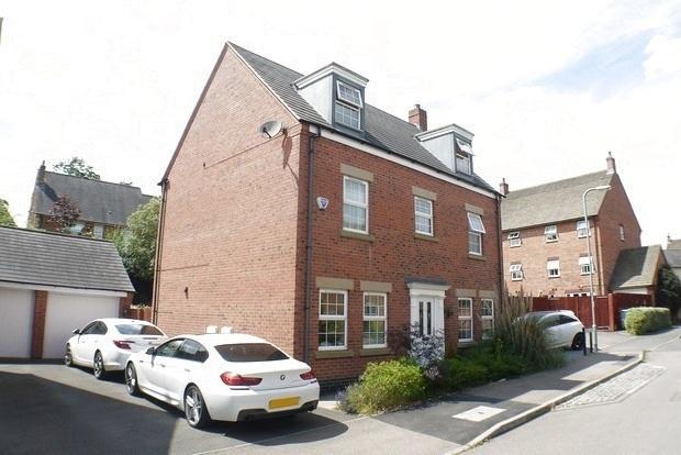 5 Bedrooms Detached House for sale in Burdock Way, Desborough, Kettering, NN14