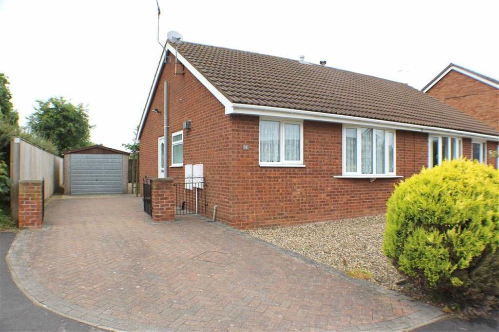 2 Bedrooms Semi Detached Bungalow for sale in Headlands Drive, Bridlington, East Yorkshire