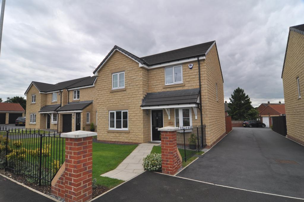 4 Bedrooms Detached House for sale in Watson Park, Spennymoor DL16