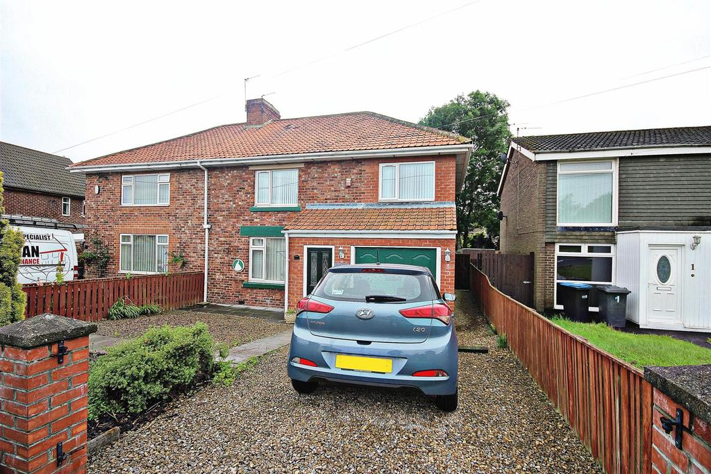 3 Bedrooms Semi Detached House for sale in Tan Hills, Nettlesworth, Chester Le Street