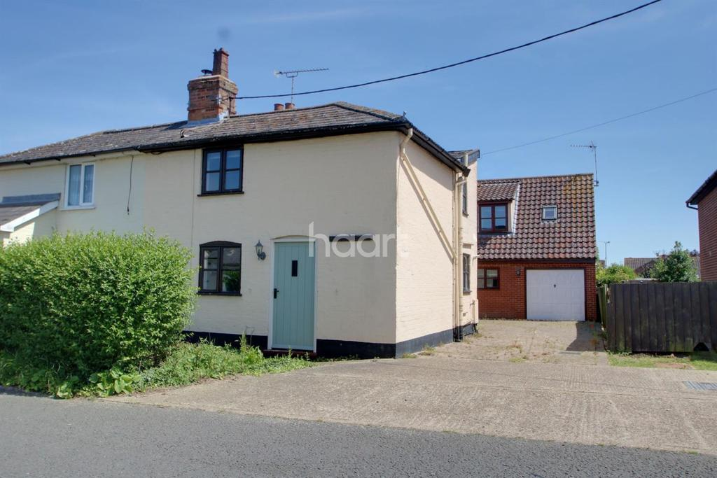2 Bedrooms Cottage House for sale in Gipping Road, Stowupland