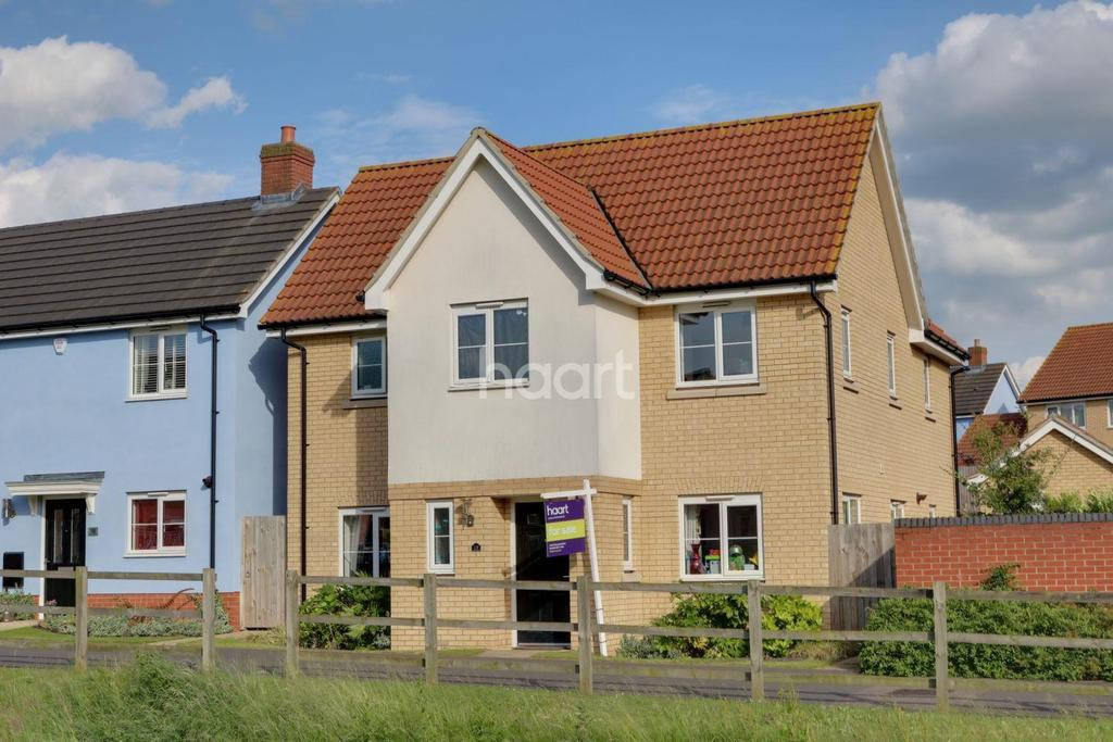 4 Bedrooms Detached House for sale in Buzzard Rise, Stowmarket