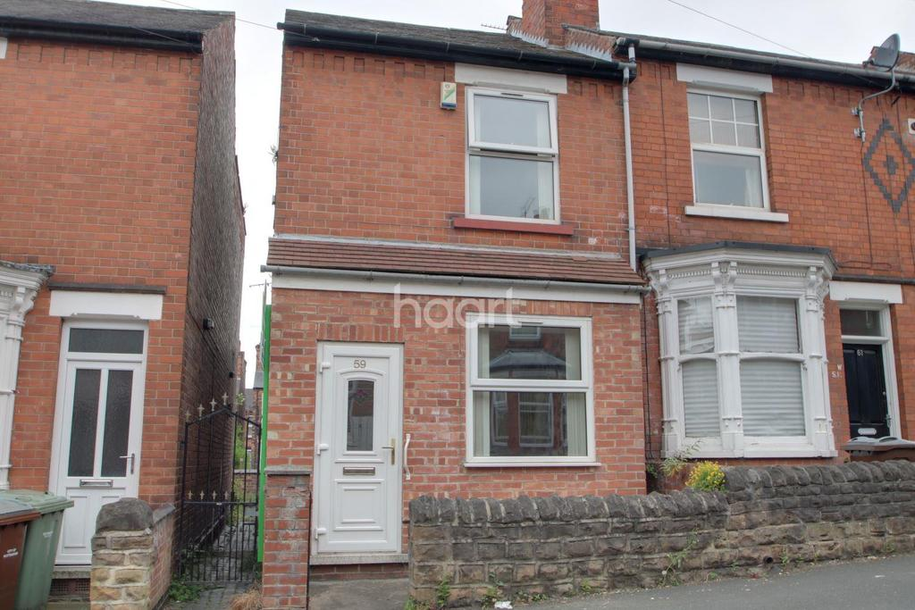 2 Bedrooms End Of Terrace House for sale in Sedgley Avenue, Sneinton
