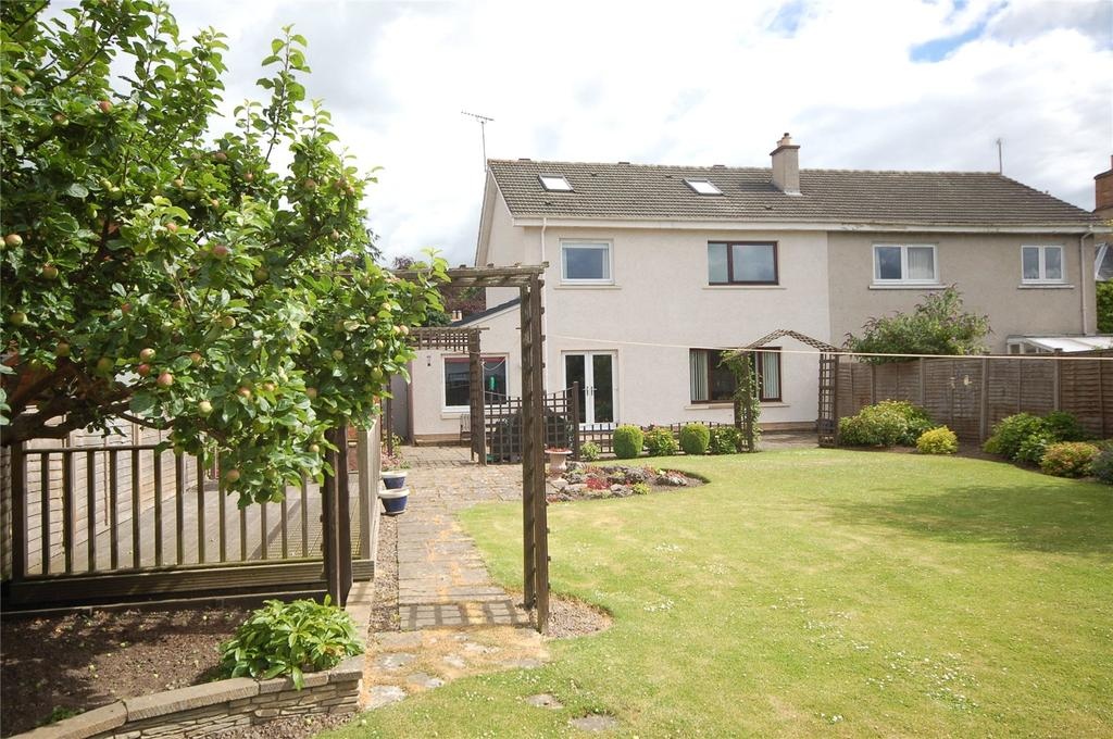 4 Bedrooms Semi Detached House for sale in Priorsfield, Hermitage Lane, Kelso, Scottish Borders, TD5