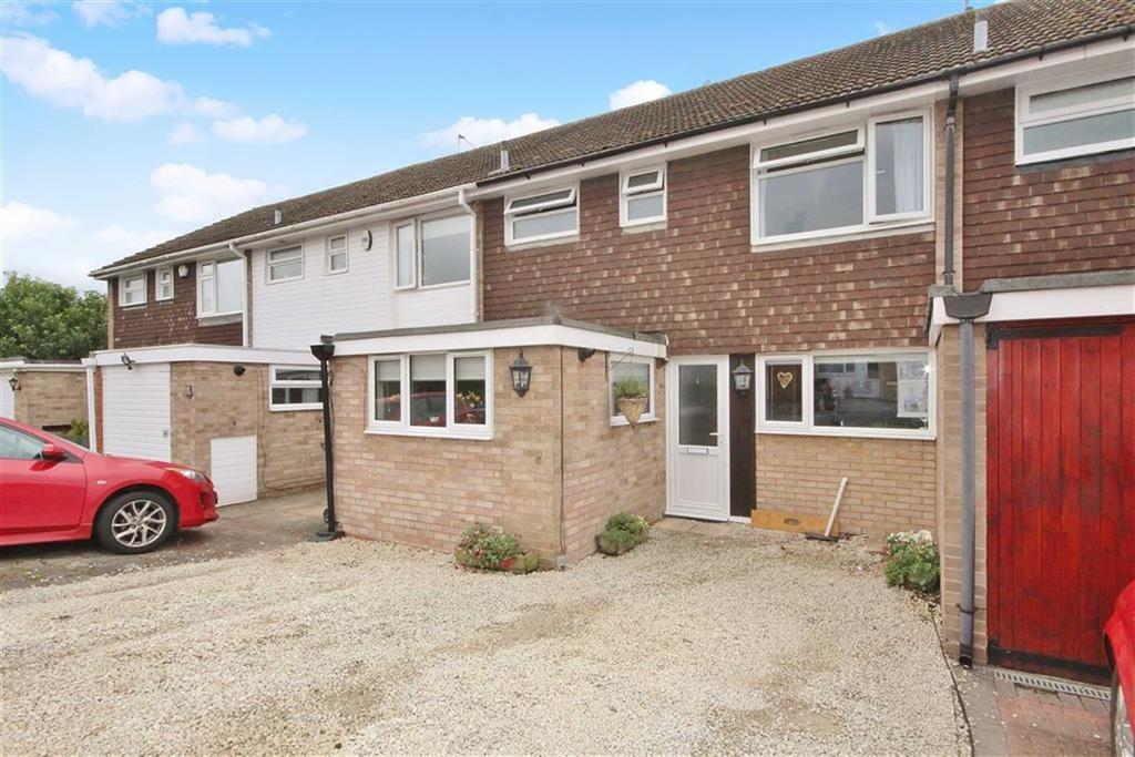 3 Bedrooms Terraced House for sale in Exmoor Drive, Leamington Spa, Warwickshire, CV32