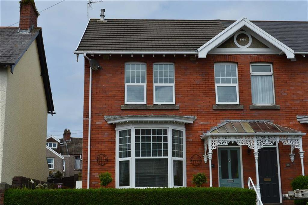 3 Bedrooms Semi Detached House for sale in Hazelmere Road, Swansea, SA2