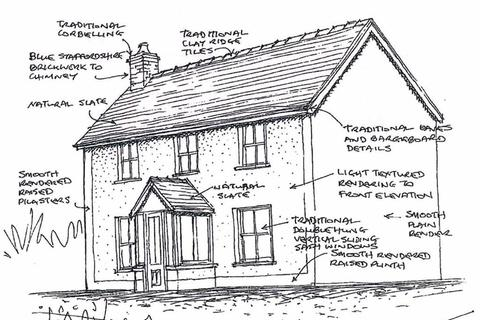 3 bedroom property with land for sale - Plot 2 And 3, Adjacent To Meidrym, Llangeitho, Tregaron, SY25