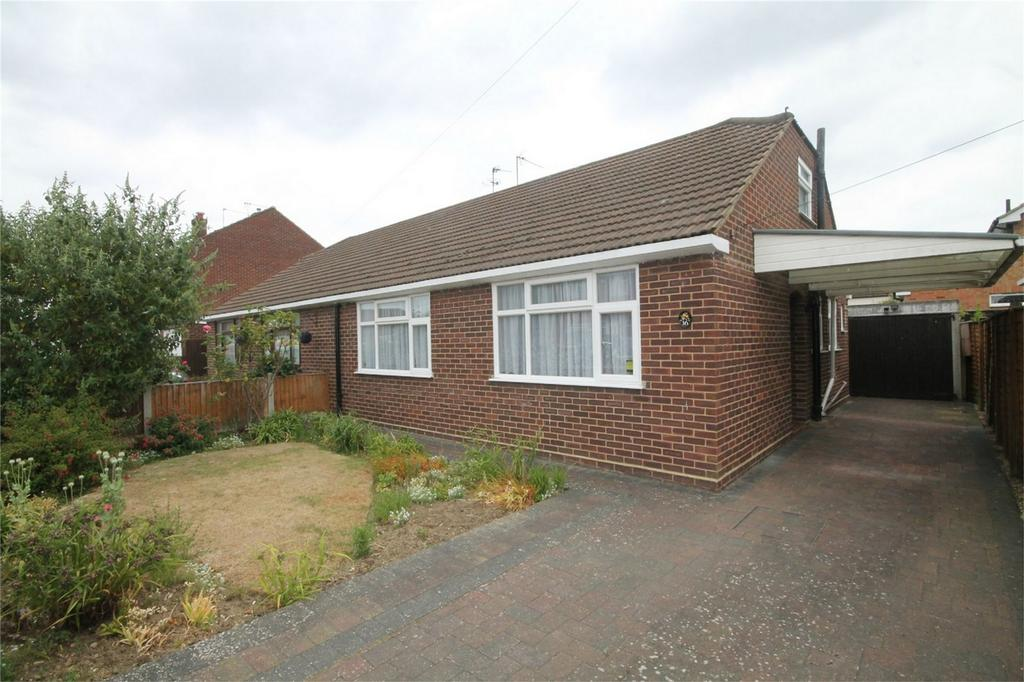 2 Bedrooms Semi Detached Bungalow for sale in 16 Meadow Road, Ashford, Surrey