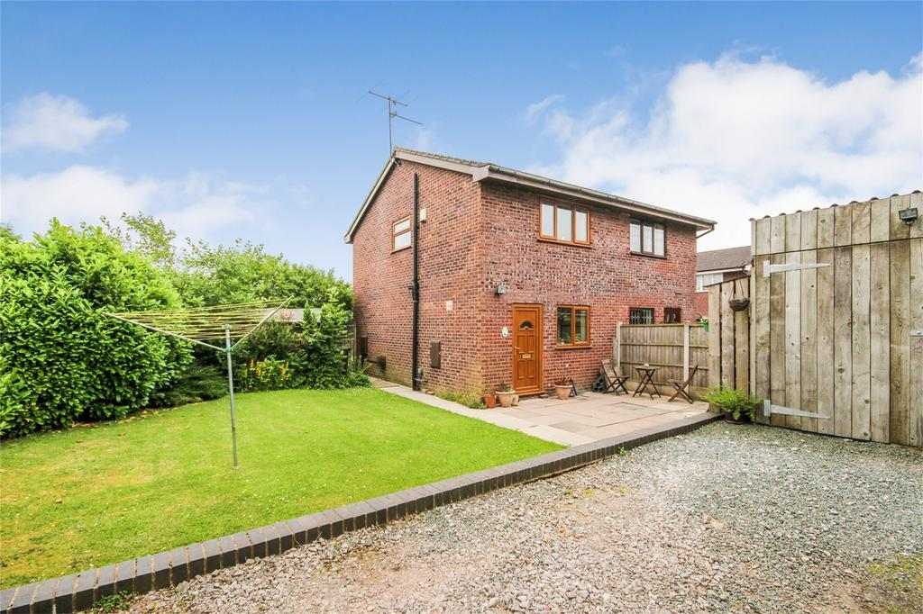 2 Bedrooms Semi Detached House for sale in Ness Grove, Cheadle, Staffordshire