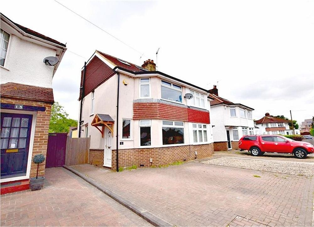 3 Bedrooms Semi Detached House for sale in Orchard Avenue, WATFORD, Hertfordshire