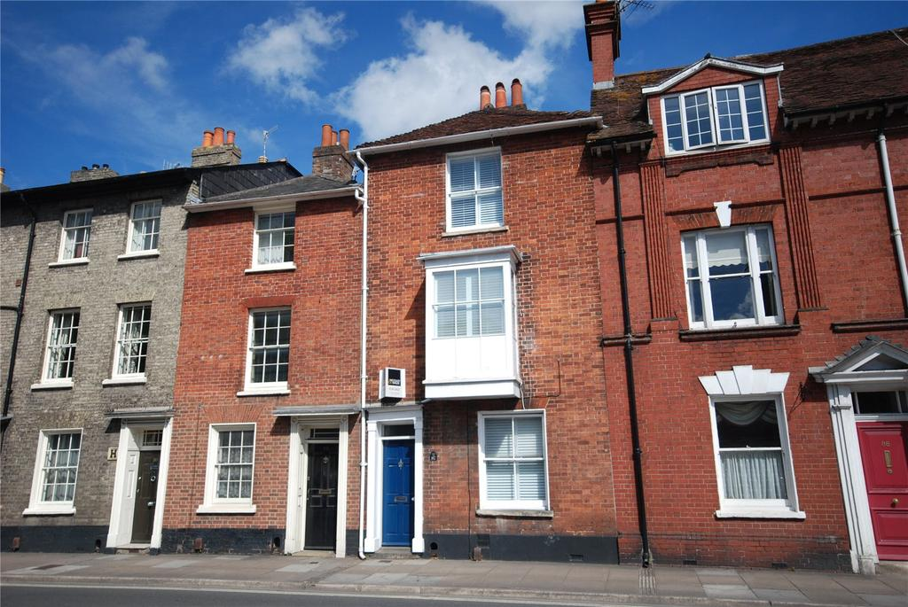 3 Bedrooms Terraced House for sale in Exeter Street, Salisbury, Wiltshire, SP1