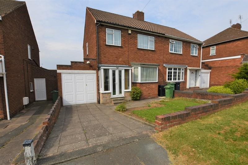 3 Bedrooms Semi Detached House for sale in Merrivale Road, Halesowen