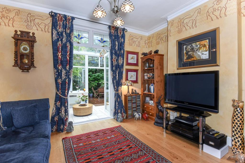 3 Bedrooms Terraced House for sale in Delamere Road, West Wimbledon