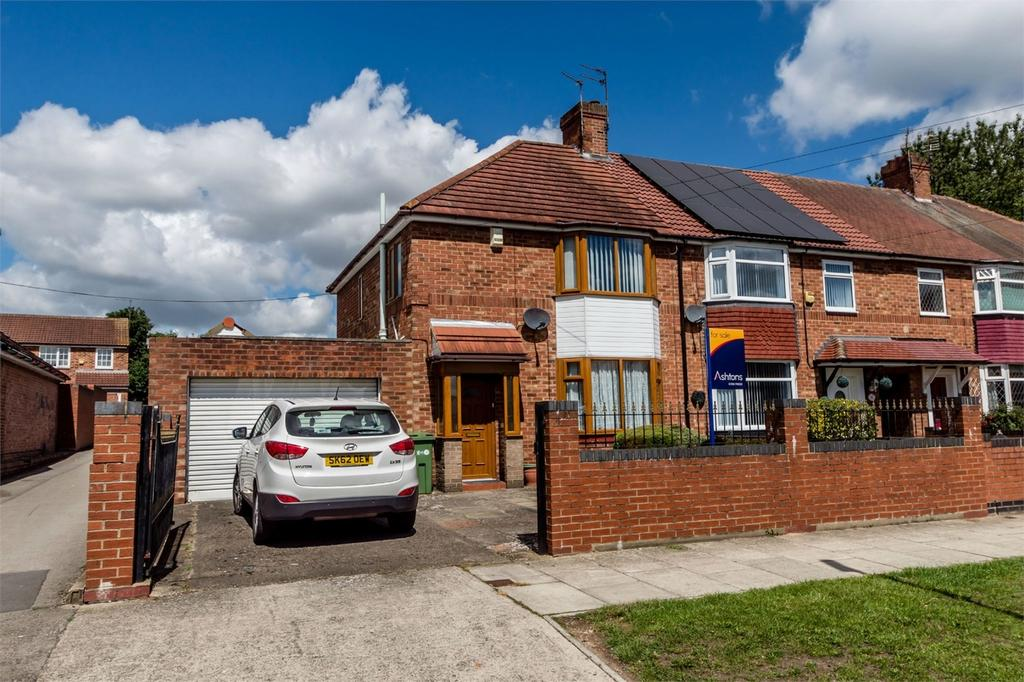 3 Bedrooms End Of Terrace House for sale in Tennent Road, Acomb, YORK