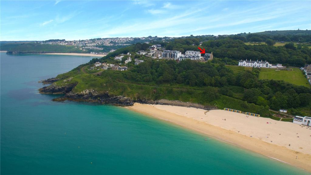4 Bedrooms Detached House for sale in Stunning views over St.Ives Bay