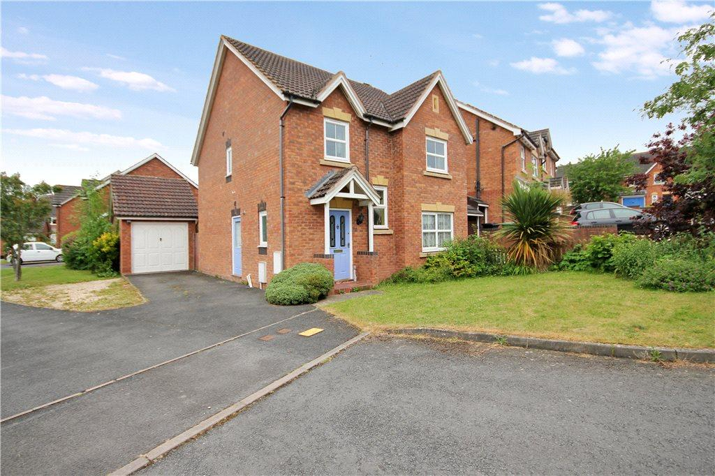 4 Bedrooms Detached House for sale in Godiva Road, Leominster, HR6