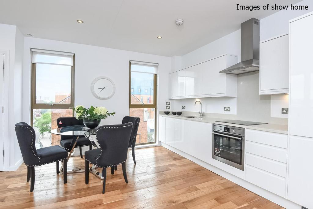 2 Bedrooms Flat for sale in The Residence, Pitfield Street, Hoxton